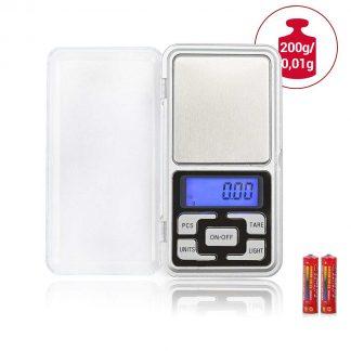 Digitálna vrecková mini-váha 200g (presnosť 0,01g)